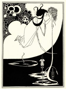 Aubrey Beardsley (1871–1898), The Climax, illustration for Oscar Wilde's play Salomé, drawing, ink on paper, 1907