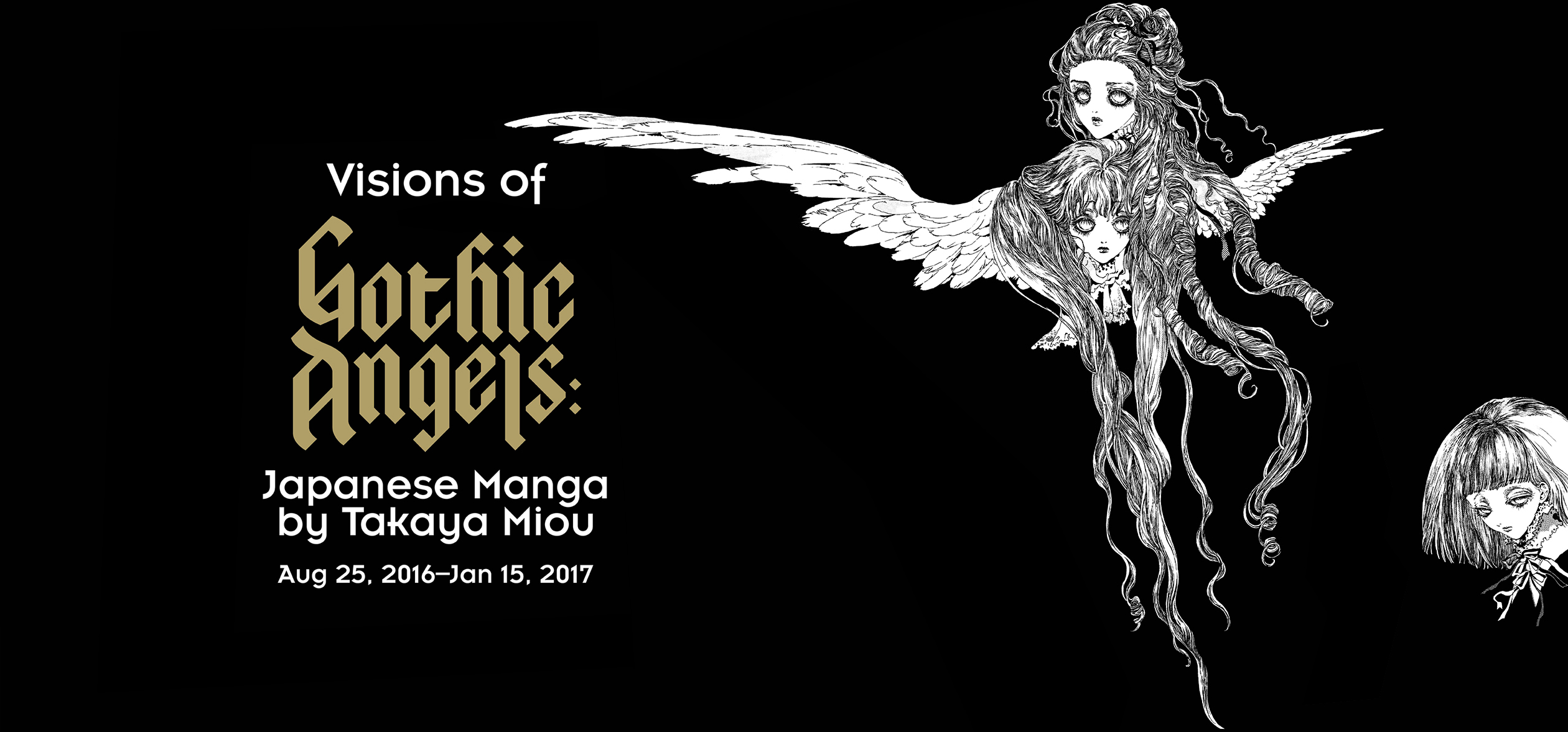 Visions of Gothic Angels: Japanese Manga by Takaya Miou